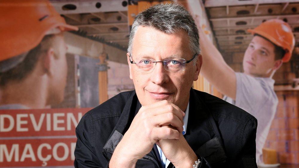 Alain Métrailler, président de l'association valaisanne des entrepreneurs (AVE).