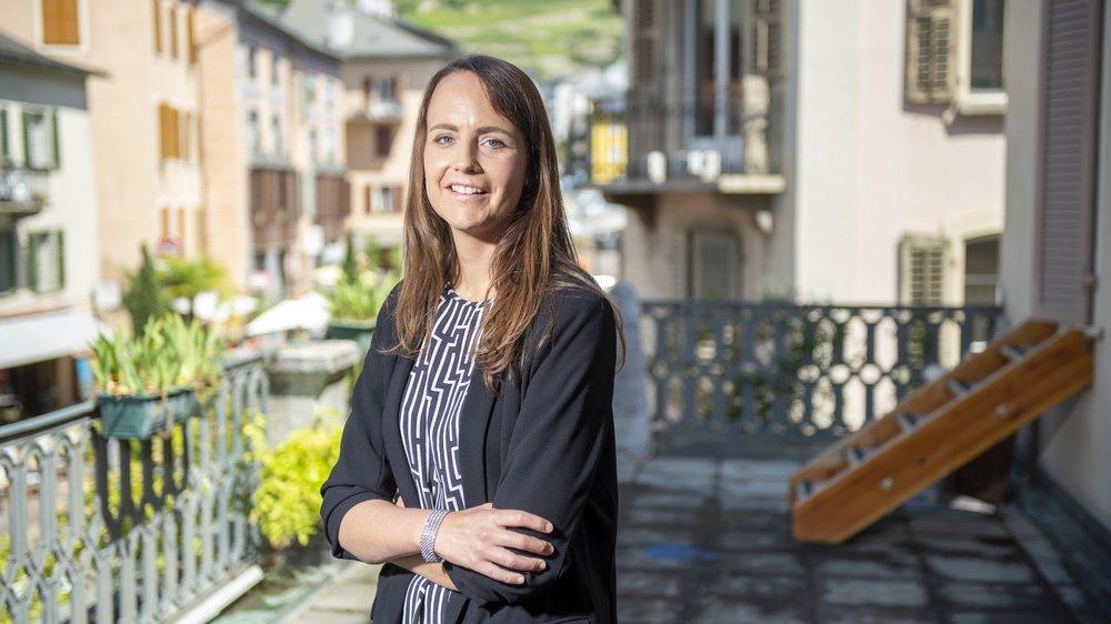 Forte de son expérience acquise à Sion, Gaëlle Métrailler s'en va à Neuchâtel pour y relever un nouveau défi professionnel.
