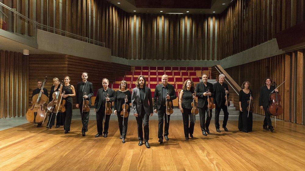 Orchestre Royal de Chambre de Wallonie sous la direction de Frank Braley, piano.