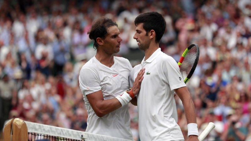 Rafael Nadal a été battu l'an dernier par Novak Djokovic en demi-finale. Il pourrait à nouveau croiser le Serbe à ce stade du tournoi (archives).