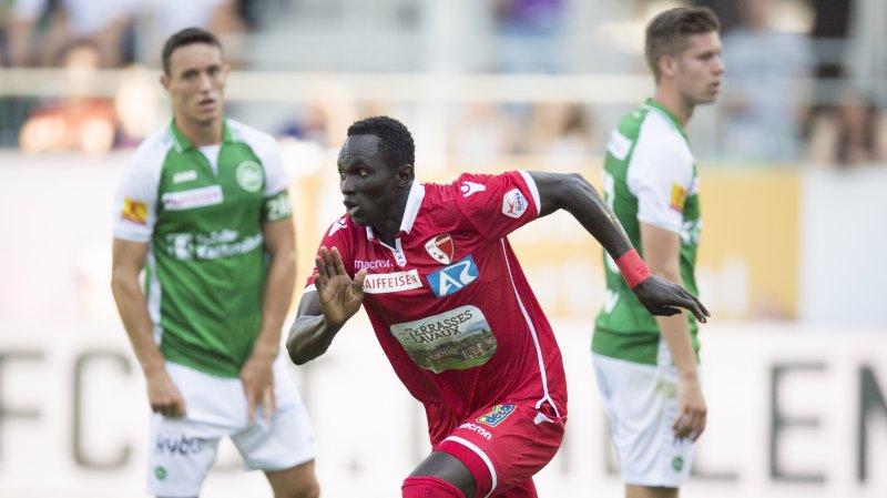 Moussa aura inscrit trois buts en Super League durant son passage sous le maillot du FC Sion.