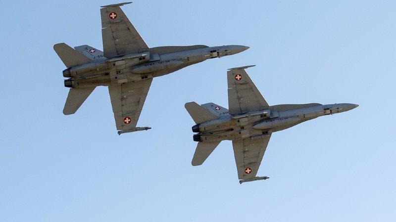 Schwytz: en mai dernier, deux F/A-18 ont failli percuter un petit avion de tourisme