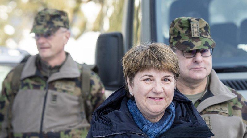 Armée: la conseillère fédérale Viola Amherd veut des panneaux solaires sur chaque caserne