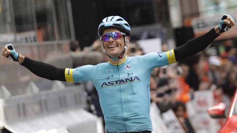 Cyclisme: Jakob Fuglsang remporte le Critérium du Dauphiné à Champéry