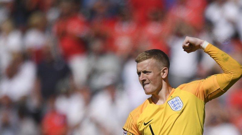 Jordan Pickford, portier d'Everton et de l'équipe d'Angleterre, pourrait fouler la pelouse du Châble.