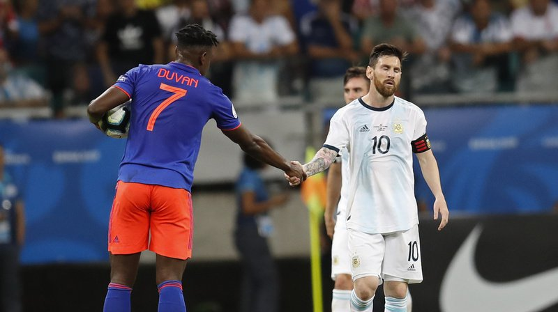 Football – Copa America: l'Argentine s'incline d'entrée face à la Colombie