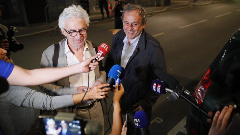 Football - Mondial 2022 au Qatar: Michel Platini ressort libre de garde à vue