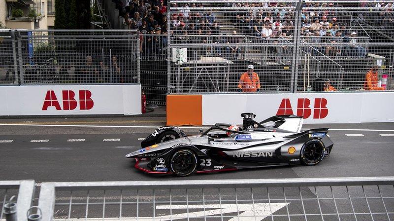 Sébastien Buemi 3e du e-Prix de Berne
