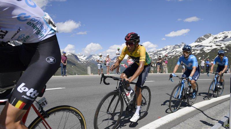 Cyclisme - Tour de Suisse: victoire finale pour le Colombien Egan Bernal, l'étape pour Carthy