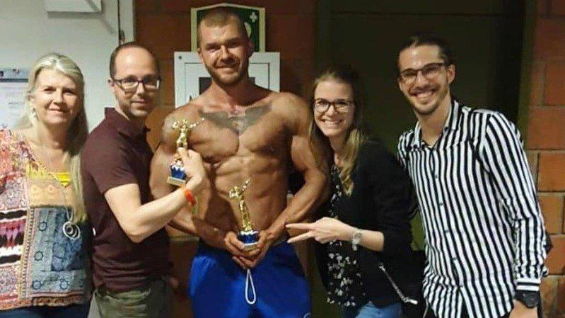 Axel Boson est devenu vice-champion du monde Wabba junior.