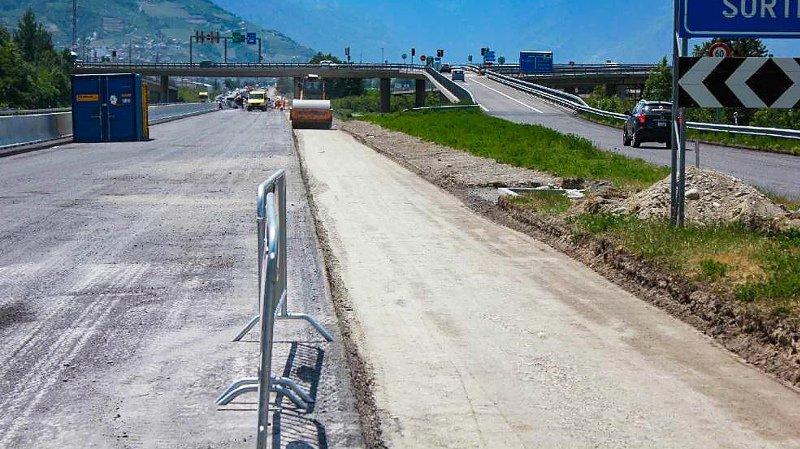 Ce sont des travaux de pose d'enrobé qui vont provoquer des perturbations de trafic à hauteur de Riddes.
