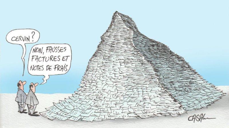 De 1999 à 2011, le prévenu principal, beau-frère du recourant, avait multiplié les stratagèmes pour détourner 2,6 millions à son employeur, la commune de Zermatt.