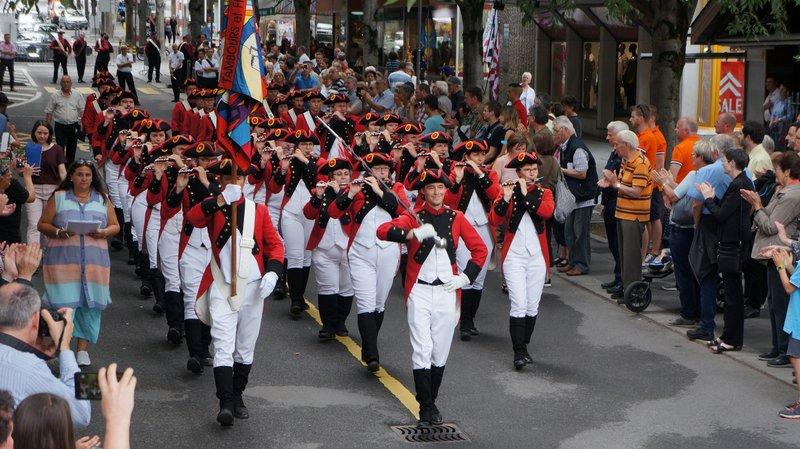 Sierre: les Valaisans se distinguent lors de la Fête romande