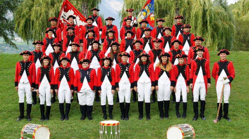 Les Tambours et fifres sierrois accueillent leurs homologues romands lors d'une manifestation qui devrait attirer la grande foule sur trois jours.