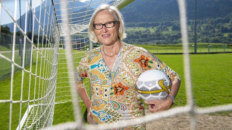 Le Prix de la Ville de Sion décerné à la footballeuse Madeleine Boll