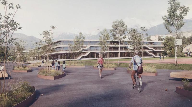 Le collège pourrait ouvrir ses portes pour la rentrée 2024.