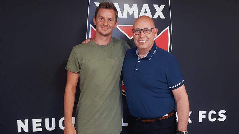 André Neitzke jouera sous les couleurs xamaxiennes.