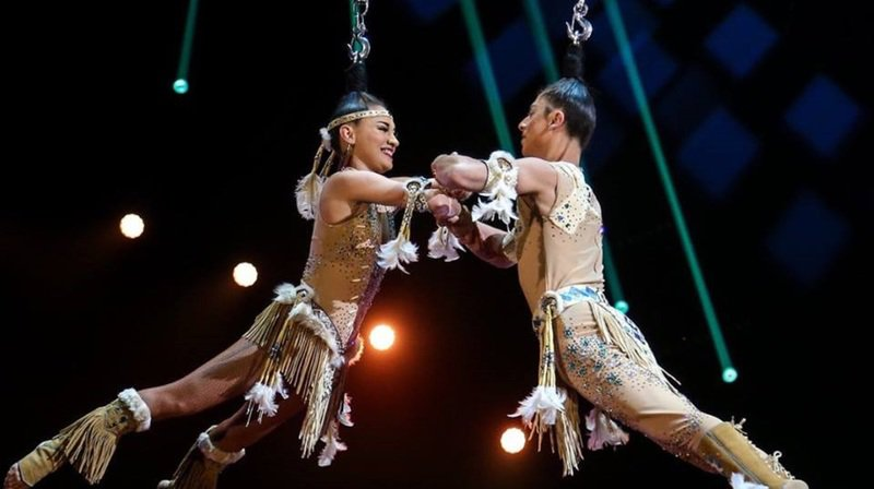 Les spectateurs pourront apprécier les prouesses du couple mexicain du Duo Zontli.
