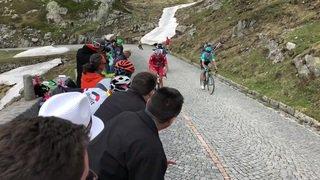 Cyclisme - Tour de Suisse: les fans ont vibré sur la Tremola