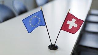 """Suisse - UE: Bruxelles constate """"un manque de progrès"""" dans les discussions sur l'accord-cadre"""