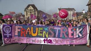 La Suisse vire au mauve, la grève des femmes du 14 juin en images