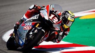 Moto2: Thomas Lüthi 2e au Grand Prix de Catalogne