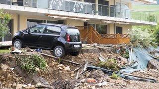 Neuchâtel: les inondations dans le Val-de-Ruz ont fait un mort des millions de francs de dégâts