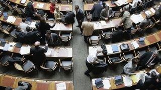 Le Parlement avalise une rallonge de 75,4 millions