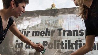 Au PDC, la transparence séduit