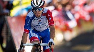 Cyclisme: Sébastien Reichenbach a mis le nez à la fenêtre lors de l'étape du Dauphiné en Valais