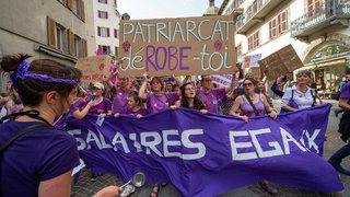 Quand la vague violette déferle sur le Valais: récit d'une journée historique