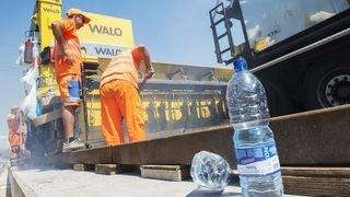 Canicule: Unia lance une campagne de prévention sur les chantiers
