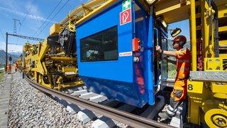 Riddes-Saxon: 3,9millions pour rénover la voie ferrée