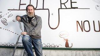 Dan Perjovschi, la subversion inscrite aux murs des villes