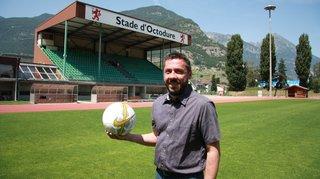 Football: «je n'ai pas l'ambition de lancer une révolution», Fabrice Martina, nouveau président du FC Martigny-Sports