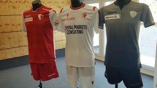 Football: le FC Sion dévoile ses nouveaux maillots