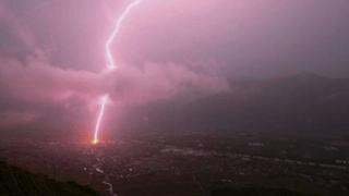 Fully: la foudre s'est abattue sur le village vendredi