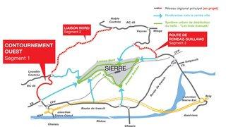 Sierre: trois projets pour améliorer la circulation en ville