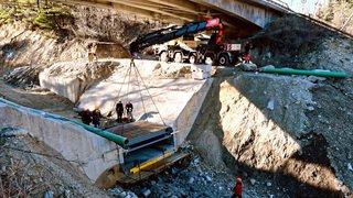 La plus grande balance à laves torrentielles du monde en Valais