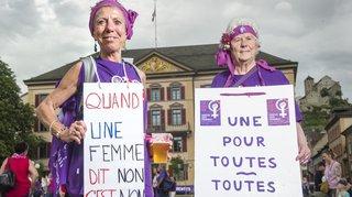 Grève des femmes: les visages et les mots de la manifestation