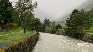 Le Bas-Valais balayé par des orages