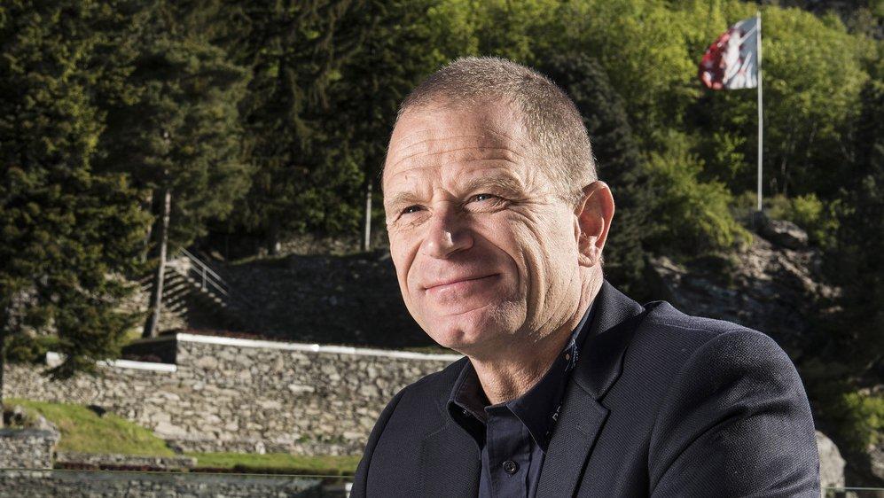 Olivier Foro, directeur de Brigerbad et résident de Salins.