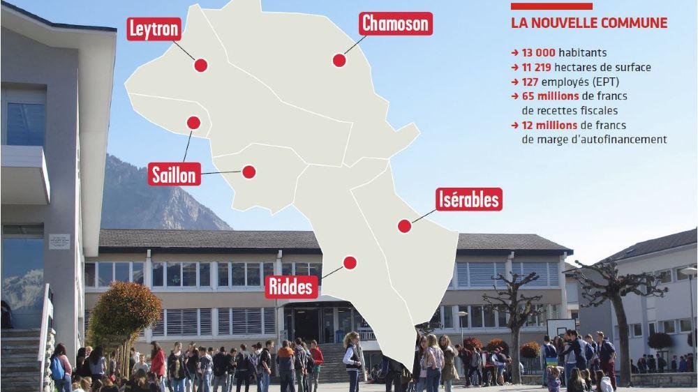 Une nouvelle étape du processus de rapprochement a été lancée dans les communes de Chamoson, Isérables, Leytron, Riddes et Saillon.