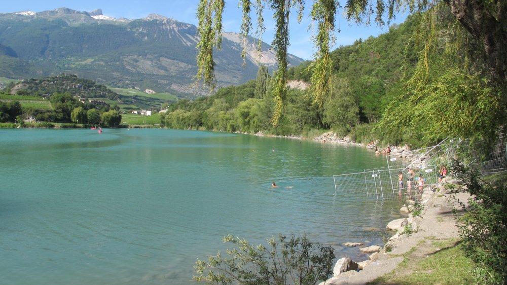 Le 17 août, l'association Etcetera invite les habitants de Sierre et Salquenen à partager un goûter aux abords du lac de Géronde.