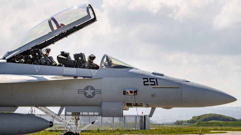 Le Conseil fédéral se prononcera sur le type de jet de combat après le scrutin populaire.(Illustration)