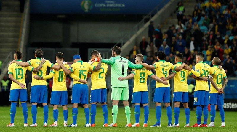 Football - Copa America: au bout du suspense, le Brésil se qualifie pour les demi-finales