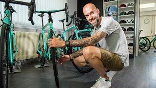 Quand son métier et ses loisirs, autour du vélo, ne font qu'un…