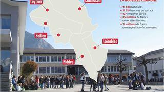 Fusion de communes: Chamoson rejoindra-t-elle le district de Martigny?