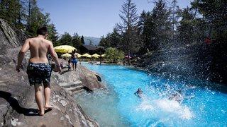 Des records de températures pour le mois de juin en montagne enregistrés en Valais