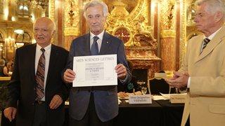 L'architecte Pierre Dorsaz, créateur du Hameau de Verbier, honoré à Paris